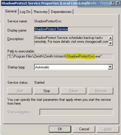 Determine Service Name
