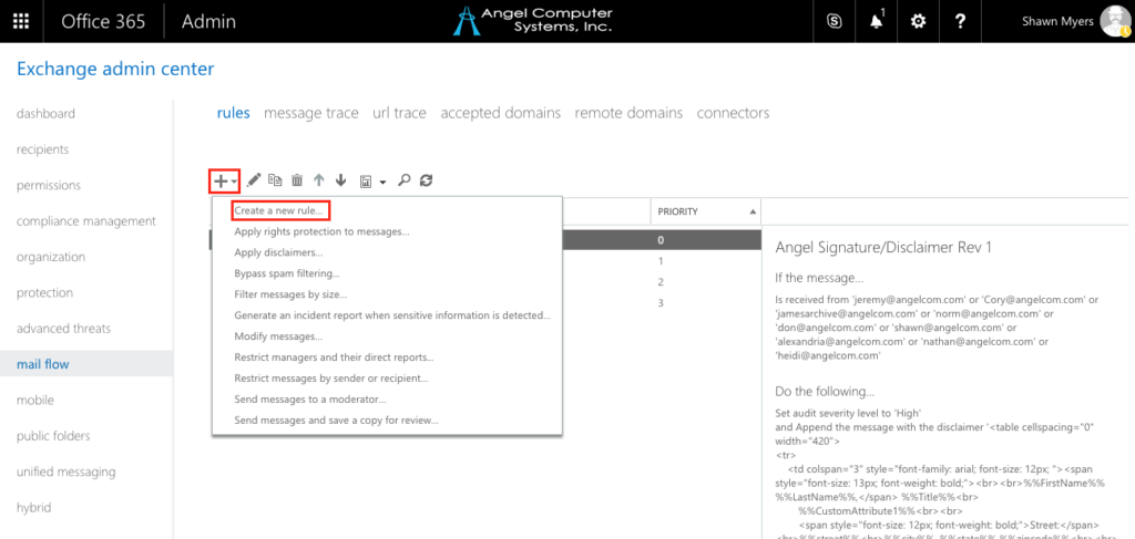 Automatically Add Dynamic Email Signatures with Office 365 using
